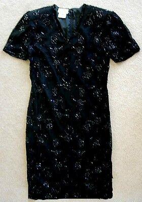 Vintage JMC Beaded cocktail dress