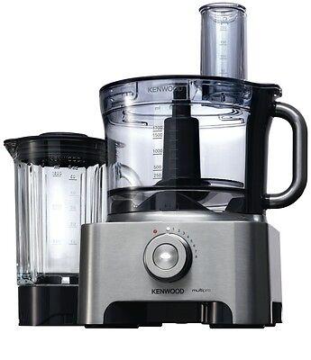 NEW Kenwood Multi Pro 1000W Food Processor 1000W Dishwasher Safe FPM810