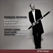 Mathieu Lussier, F. - Sonates Op. 24 Pour Basson [New CD]