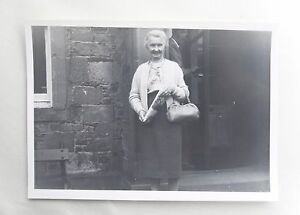 Image Is Loading Early 1960s B W Photograph Neat Old Lady With