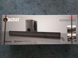 Magnat SB 180 Vollaktive Wireless Heimkino-Soundbar Schwarz Bluetooth NEU & OVP - Deutschland - Magnat SB 180 Vollaktive Wireless Heimkino-Soundbar Schwarz Bluetooth NEU & OVP - Deutschland