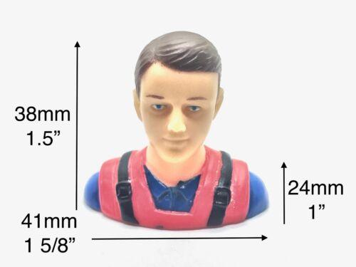"""1:9 Civil Pilot Figure For RC Plane Models 1.5/""""x1 5//8/""""x1/"""" TH031-01712A 1//9"""