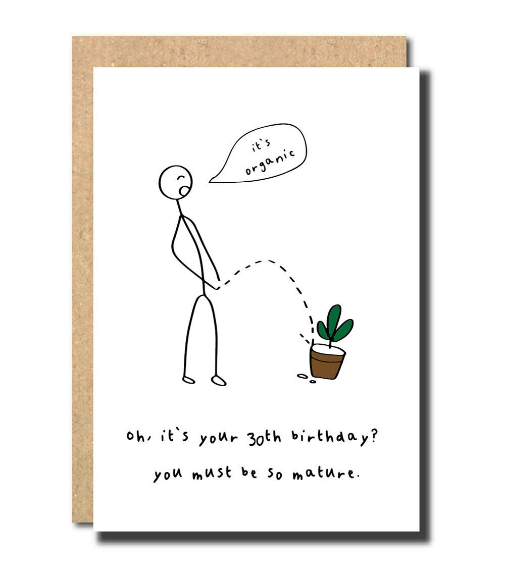 30th Birthday Card For Mum Dad Friend Sister Brother Best Funny