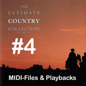 Country-Collection-4-Midifiles-inkl-Playbacks
