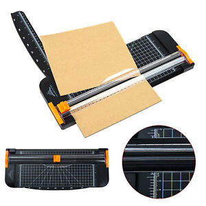 Duty A4 To B7 Paper Photo Cutter Guillotine Trimmer Knife Metal Base Portable 720355267063