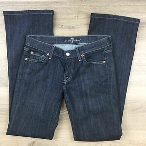 7-For-All-Mankind-Women-039-s-Jeans-Boot-Cut-Size-26-Actual-W29-L31-5-AS1