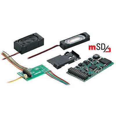 "Märklin H0 60976 SoundDecoder mSD3 / 21-polig ""für Dieselloks"" NEU + OVP"