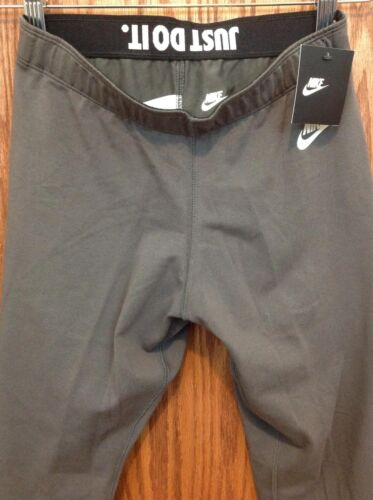 Nike Grey Stretch 81a11 S Sports Sants Nuevo Yoga Womens Sz RwfqdqaOC