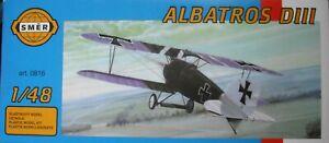 +++ Albatros D. Iii + échelle 1:48 Kit By Smer +++-afficher Le Titre D'origine