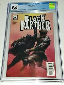 Black-Panther-2-CGC-9-6-NM-White-Pages-Marvel-2005-1st-Appearance-of-Shuri