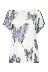 Top 20 Ivory Jersey 10 Butterfly Roman Originals Knitted Women's Sizes qHYYF4