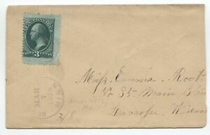 1878-Brownsdale-MN-cover-3ct-banknote-jumbo-y4031