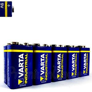 4x 9Volt-E-Block 6LR61 MN1604 VARTA 4022 Industrial PRO Batterie