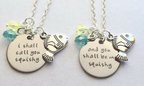 And you shall be my squishy  2 necklaces Nemo necklace I shall call you squishy