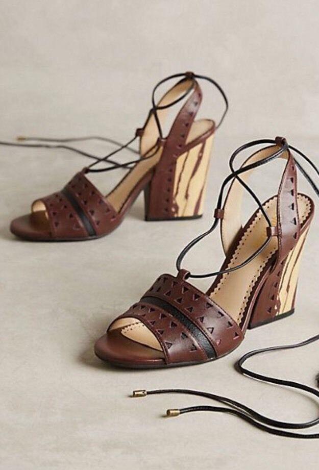 FarylRobin Caley Heel Size 7 New Women Anthropologie MSRP   130
