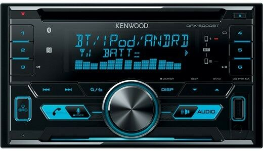 KENWOOD DPX-5000BT 2-DIN MP3-Tuner mit Bluetooth RÜCKLÄUFER