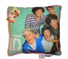 NWT One Direction Cushion Pillow Glitter 16X16 Niall Liam Zyan Harry Louis 1D