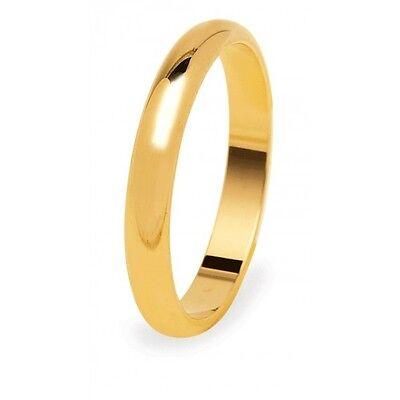 Fede Nuziale DIANA 3 grammi Fascia stretta Oro bianco Francesina Matrimonio