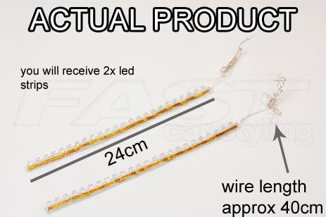 R8 Style LED Luci Per KIA nebbia lato DRL