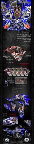 "PARTS YAMAHA 2004-2013 YFZ450 GRAPHICS WRAP KIT /""LUCKY/"" FITS OEM PLASTICS"
