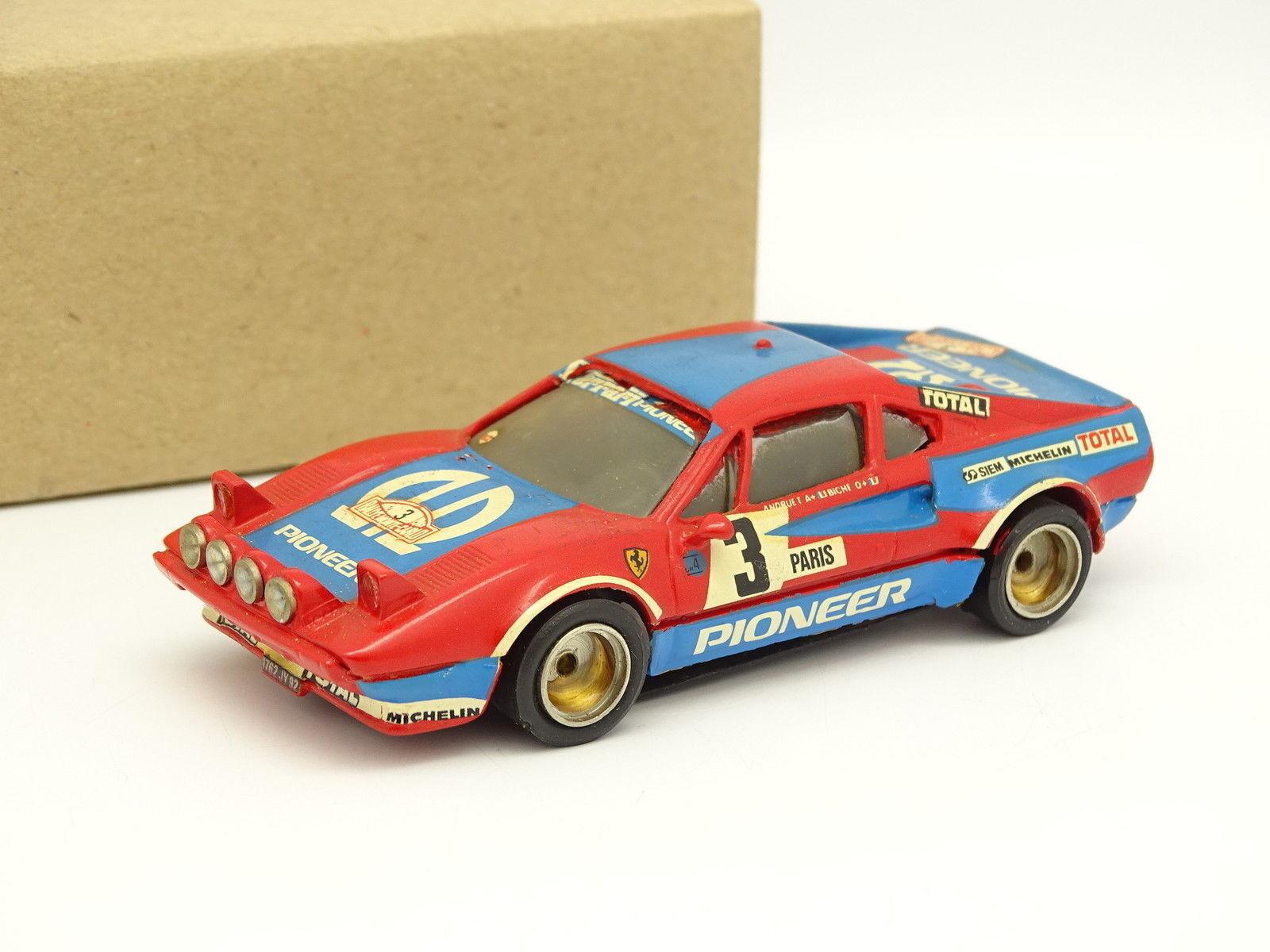 Record Kit Montado Resina 1 43 - Ferrari 308 Gtb Gtb Gtb Rallye Monte Carlo 1982 61af00
