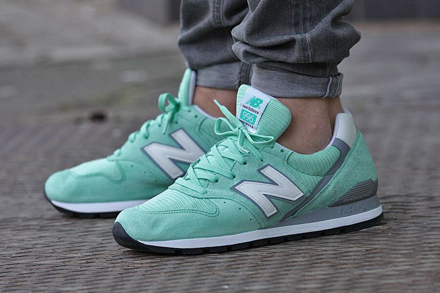 NEW IN BOX  MENS New Balance Balance Balance NB 996 M996CPS Made in USA Mint Green  SIZE 6-13 4fac4a