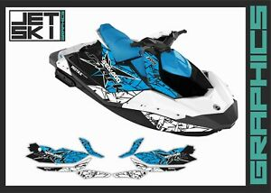 Seadoo Spark Trixx 2up 3up Graphics Decals Stickers Kit For Jet Ski Vinyl Set Ebay