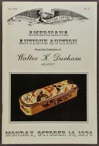 Antique-American-Folk-Art-amp-Country-Americana-Durham-Collection-1974-Catalog
