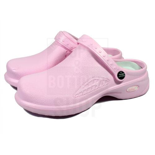Medical Nursing Womens Ultralite Clogs w// Heel Strap Non-Slip Light Shoes 9012