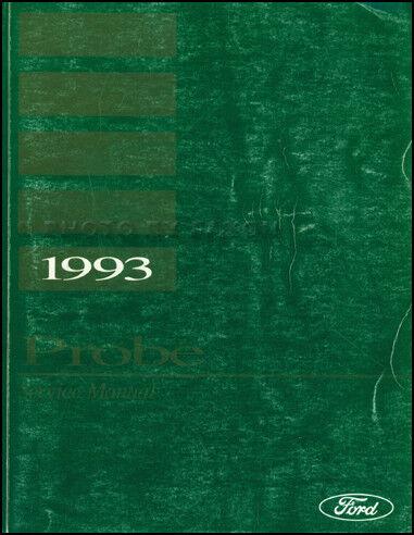 1993 Ford Probe Shop Manual 93 Original Repiar Service Book OEM includes GT