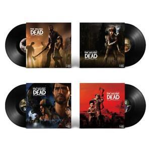 The-Walking-Dead-The-Telltale-Series-Soundtrack-4-Vinyles-Noirs-Neuf-sous-blis