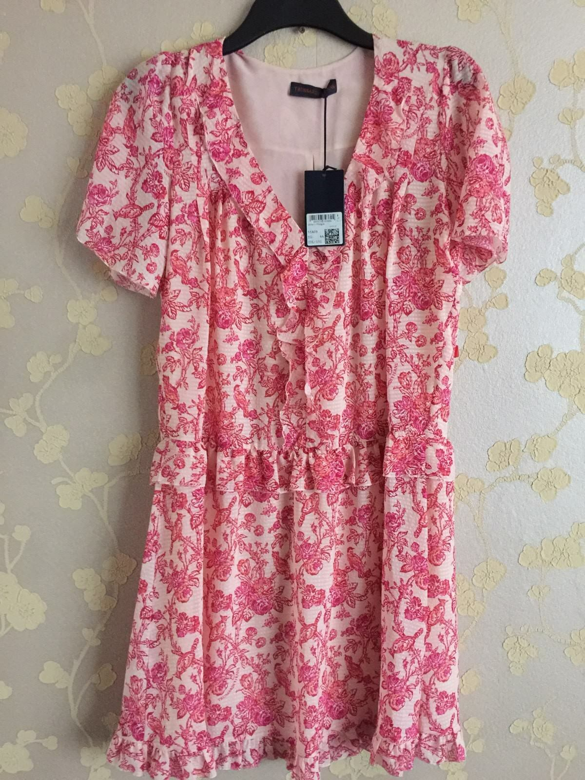 Trussardi Jeans Women's Pink Dress Size 44 12UK BNWT