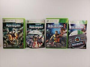 Dead Rising & Dead Rising 2 (Microsoft Xbox 360, 2010) Bundle Lot of 2 Games