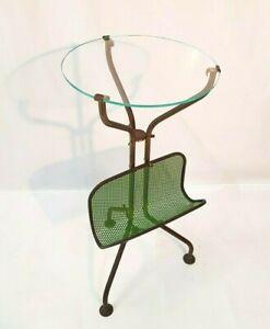 Tavolino-da-caffe-portariviste-anni-50-ottone-vetro-Fontana-Arte-Gio-Ponti-style