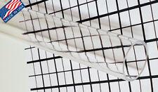 2 Od Diameter X 1 34 Id Clear Acrylic Plexiglass Lucite Tube 18 Inch Long