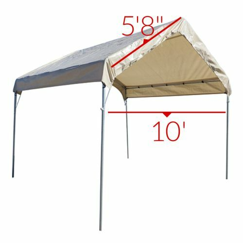 12 16 Canopy : Tan ml valance replacement top cover canopy tarp
