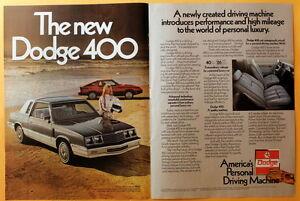 1982-Magazine-Print-Ad-for-a-Dodge-400