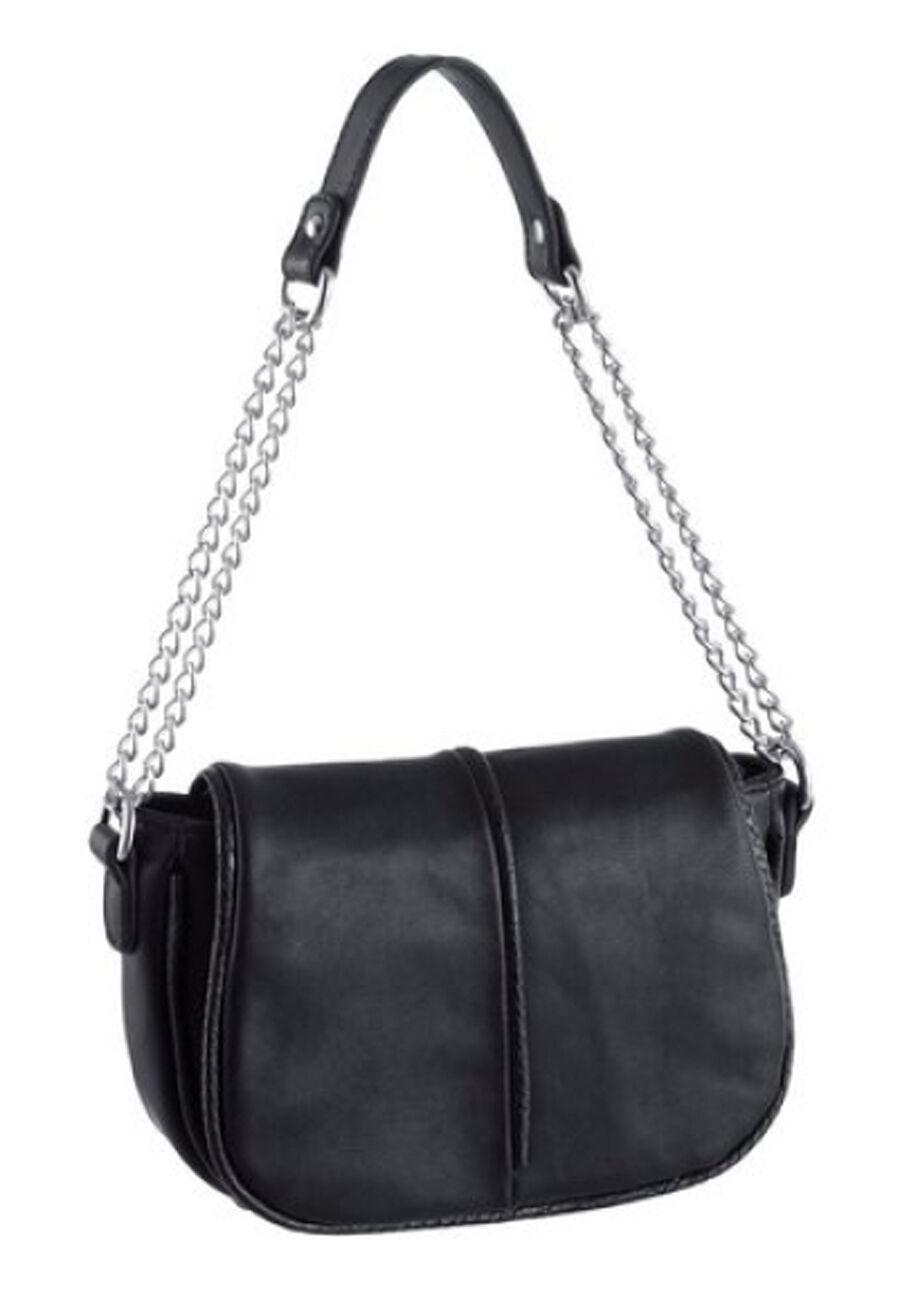 Laura Scott Damen Handtasche Tasche Umhängetasche Schultertasche schwarz NEU | | | Fein Verarbeitet  | Modisch  | Up-to-date-styling  e4f0e1