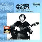Andr's Segovia: 1927-1939 Recordings, Vol. 1 (CD, Jul-1988, Warner Classics (USA))