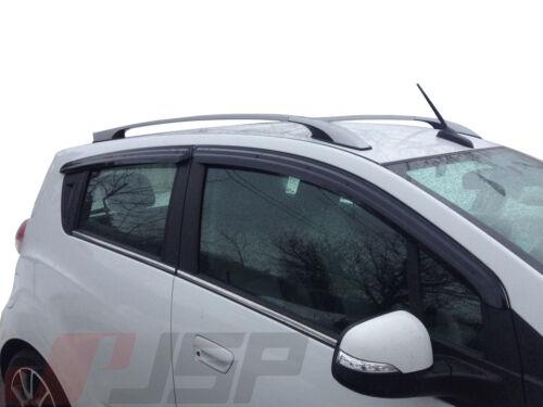 JSP Window Vent Deflector Rain Guard Visor 2016-2018 Chevrolet Spark HB 218148