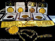 ATOCHA 1622 FLEET SHIPWRECK GOLD BAR EnRADA MEL FISHER ESCUDOS DOUBLOON COIN COB