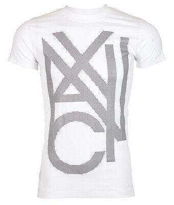 ARMANI EXCHANGE AX Mens T-Shirt AN-10 Slim WHITE Casual Designer Jeans M-XL $45