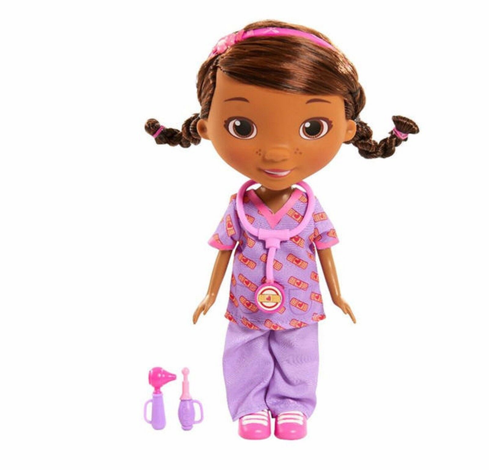 Doc McStuffins Get Better Doc Doll  Ages 3+ New Toy Mobile Talk Pretend Play Fun