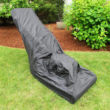 Evelots® Universal Polyester Water Resistant Lawn Mower Cover W/ Bag, Black