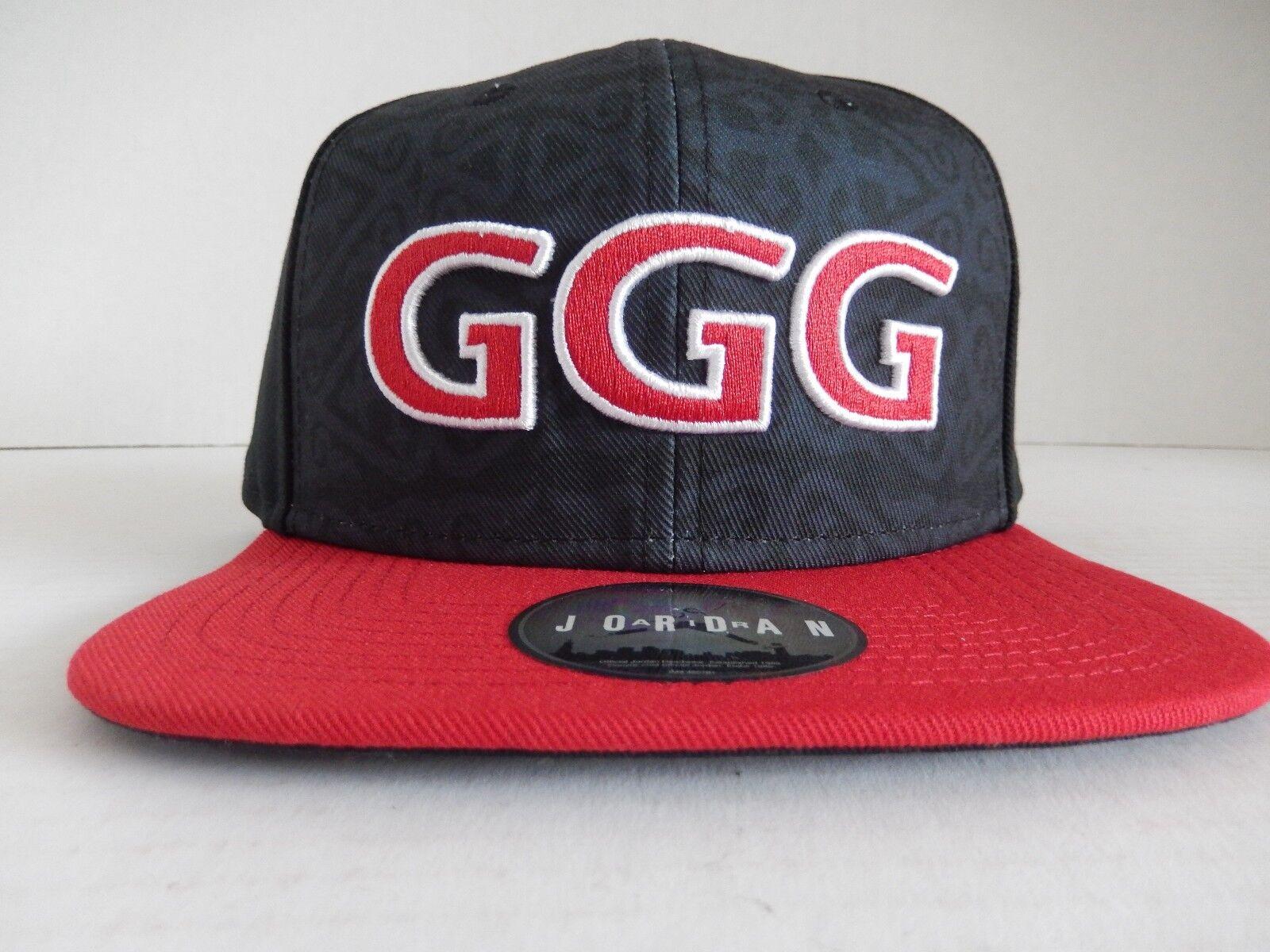 Por adelantado Darse prisa disco  NIKE GENNADY GGG GOLOVKIN JORDAN BRAND HAT BLACK-RED RARE! [AQ9329-011] for  sale online