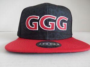 8f931a1205bd NIKE GENNADY GGG GOLOVKIN JORDAN BRAND HAT BLACK-RED RARE!  AQ9329 ...