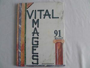 Yearbook Box #4 Stephen M. White Junior High, Carson, California 1991