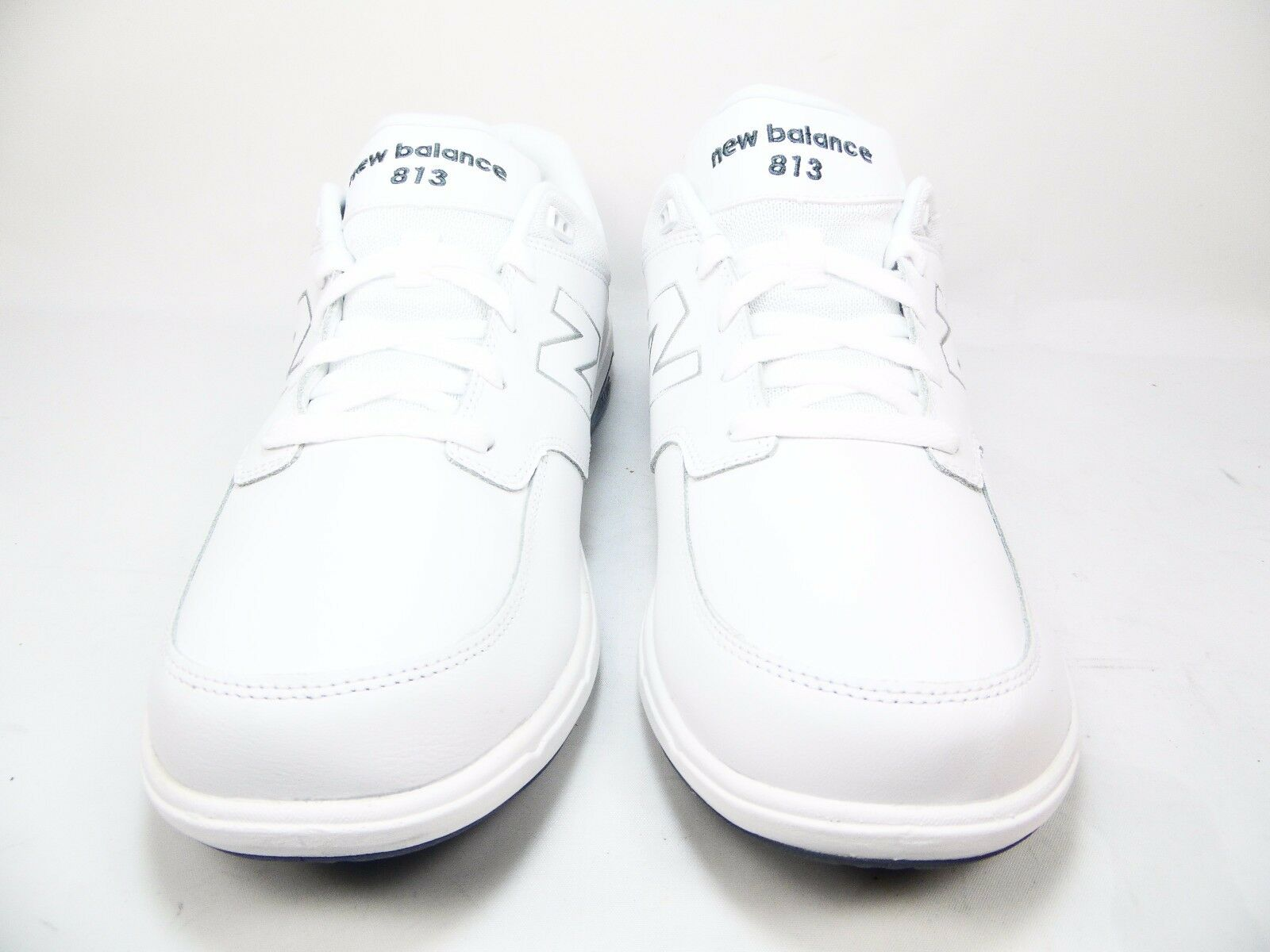 New Balance Men's MW813 Walking Shoe with Shoelaces White Size 11.5 2E