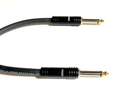 10m Sommercable Spirit Instrumentenkabel mit den robusten Hicon Steckern