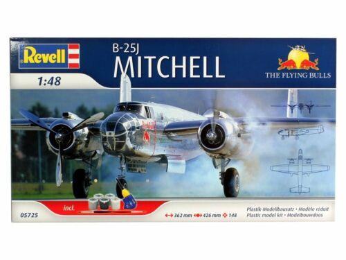 Revell 05725-1//48 B-25J Mitchell Komplettset Neu Flying Bulls